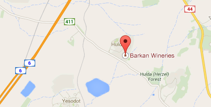 barkan map